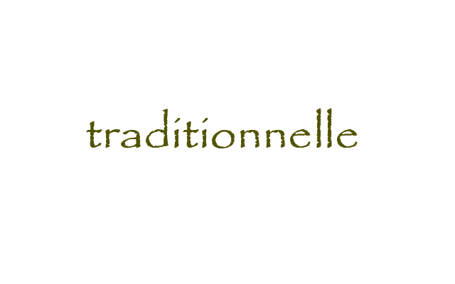 traditionnelle